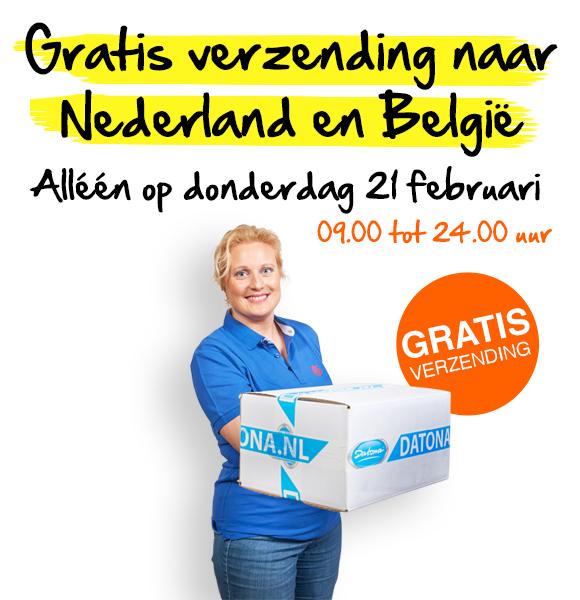 Gratis verzending Datona.nl