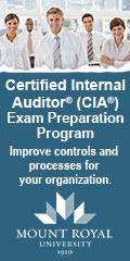 MRU ContEd: Certified Internal Auditor