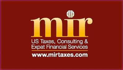 Mir Taxes LLC to serve your US tax needs!