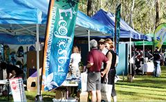 Stalls at Ecofest