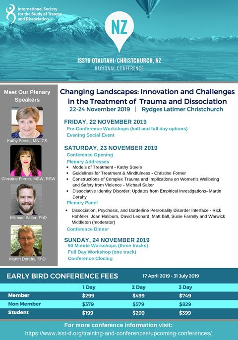 Regional ISSTD Conference NZ