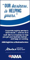 Ad: AMA Registries business services