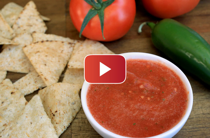 Easy spicy salsa