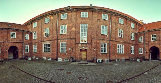 Student & Innovation House - the atrium courtyard.