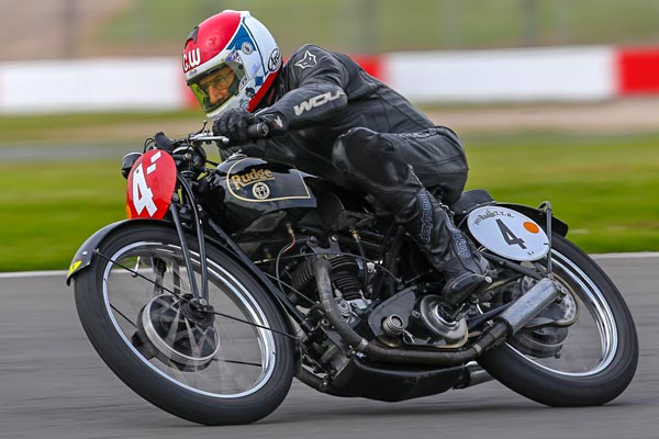Charlie Williams on the Rudge