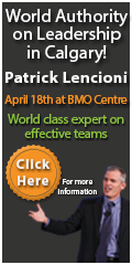 Patrick Lencioni - World class expert on effective teams