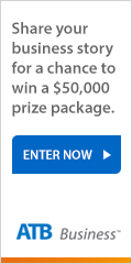 Ad: ATB Business We Grow contest