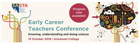 Early Career Teachers Conference - program available!