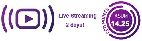 We are live streaming!