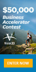 Ad: Vision 33 - Business accelerator contest