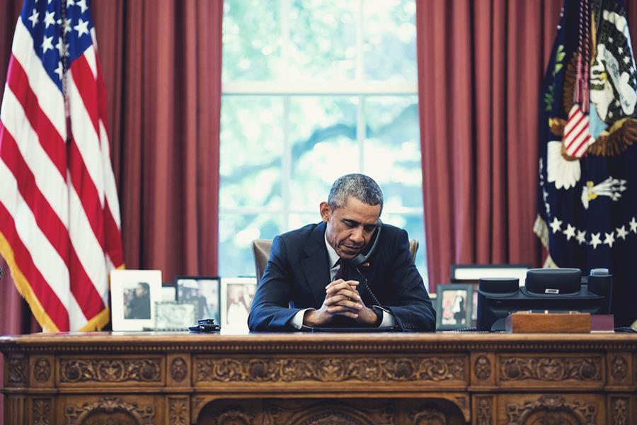 Barack Obama. Photo: Pete Souza
