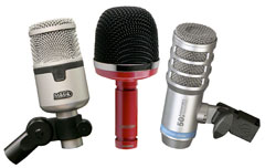3 of 19 kick drum mics on review!