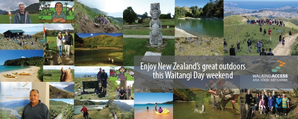 Get out and about for Waitangi Day weekend