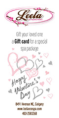 Ad: Leela Eco Spa Valentine's Day