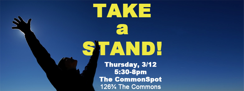 [ Take a Stand! ]