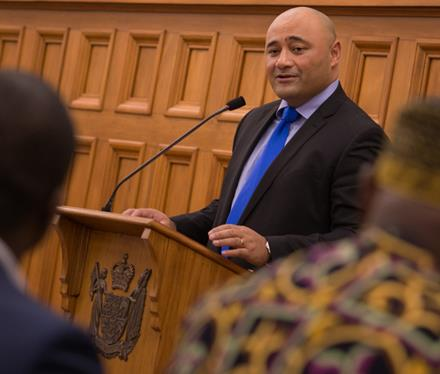 Minister for Ethnic Communities, Hon Peseta Sam Lotu-Iiga