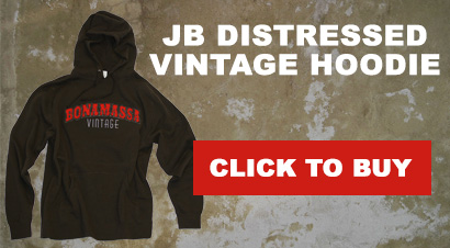 JB Distressed Vintage Hoodie. Buy Here