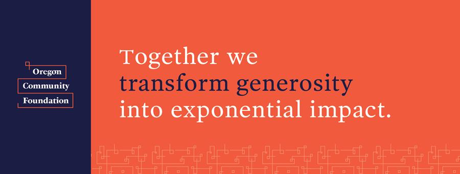 Together we transform generosity into exponential impact