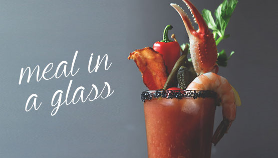 BLOODY MARY: MEAL IN A GLASS