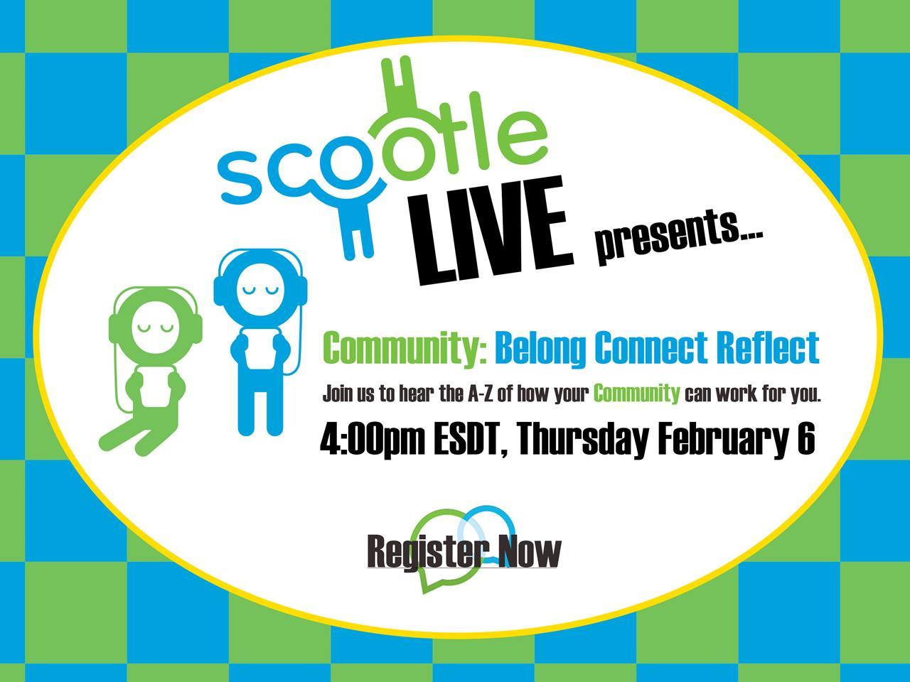 Scootle Live Webinar Series