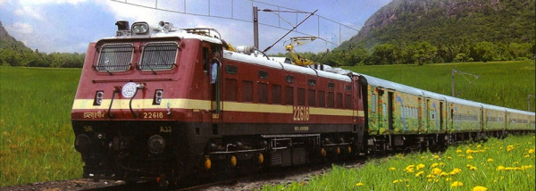 INDIA by RAIL 14 DAYS