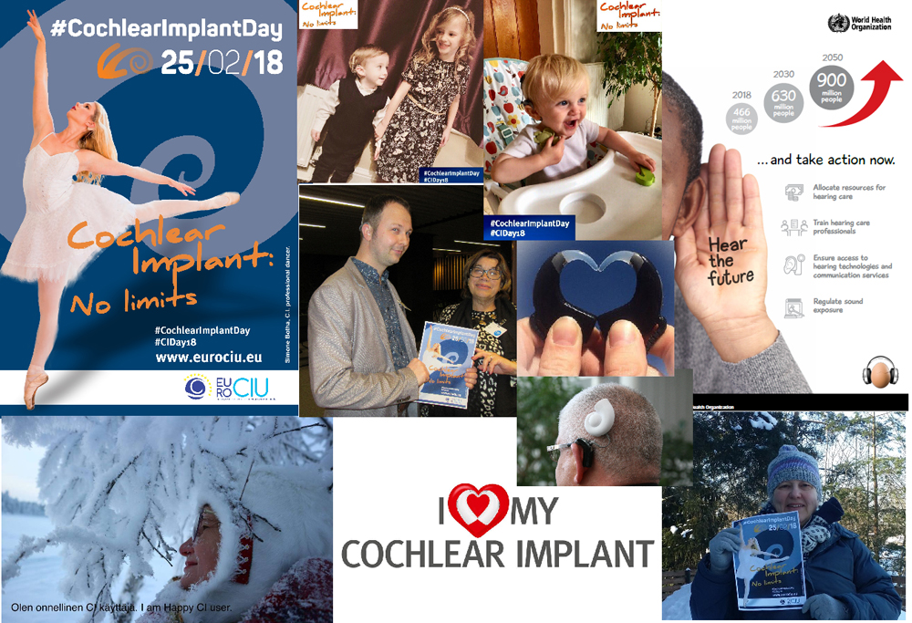 Various images about Cochlear Implant Day