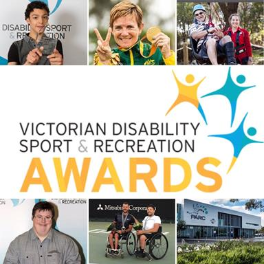 winners from last years Victorian Disability Sport and Recreation award
