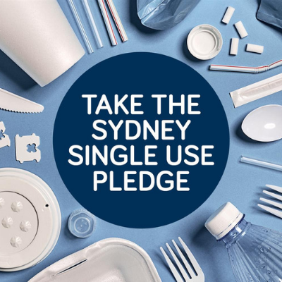 Take Sydney's Single Use Pledge