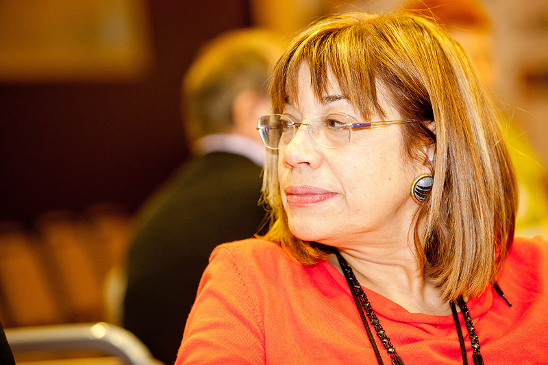 Photo of Teresa Amat, President of EURO-CIU