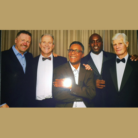 Steve Collins, Andrew West, Michael Watson, NIgel Benn, John West