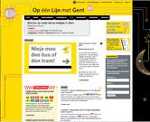 Een nieuwe website, speciaal voor Gent