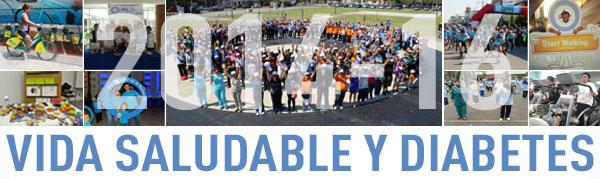 World Diabetes Day blue banner