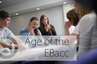 Age of the EBacc