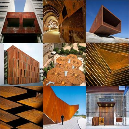 New Pinterest board: rusted steel
