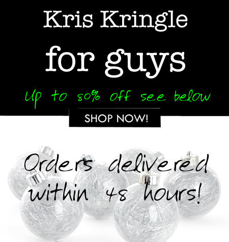 Kris Kringle gifts for men