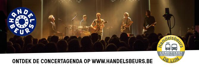 Ontdek de concertagenda op www.handelsbeurs.be