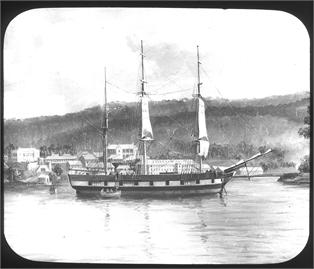 The&#32;Lady&#32;Franklin,&#32;built&#32;in&#32;1842&#32;by&#32;Master&#32;Shipwright&#32;David&#32;Hoy,&#32;was&#32;used&#32;to&#32;transport&#32;prisoners&#32;and&#32;soldiers&#32;between&#32;Hobart&#32;and&#32;Port&#32;Arthur.