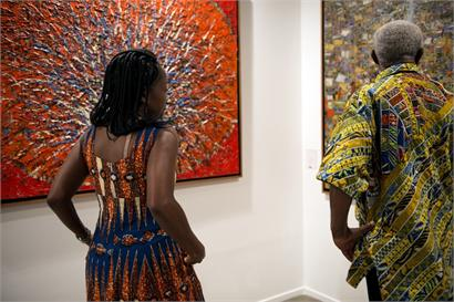 Nubuke Foundation, Art Dubai 2013. Courtesy Katrin GreilingAlt text