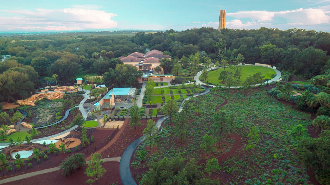 Aerial Photos of Bok Tower Gardens Expansion