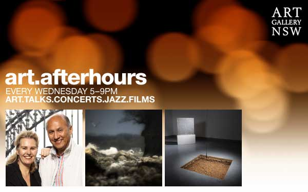 Art Gallery of NSW - Art After Hours. Every Wednesday 5-9pm