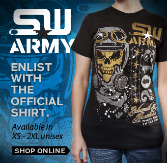 Get Your SW Army Shirt Today