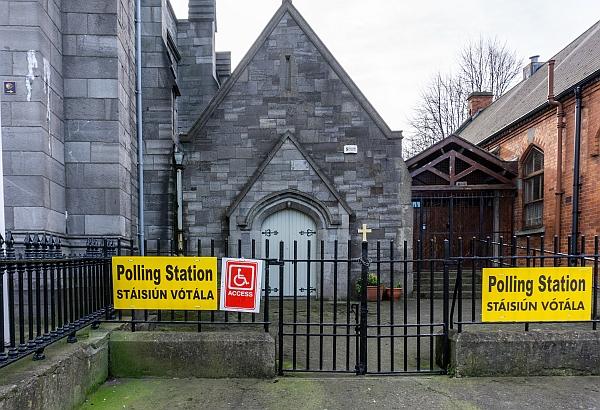polling station, James's Street, Dublin
