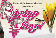 Chicago&#39;s Randolph Market Prepares for Spring