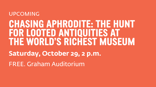 Chasing Aphrodite: The Hunt for Looted Antiquities at the World&#39;s Richest Museum