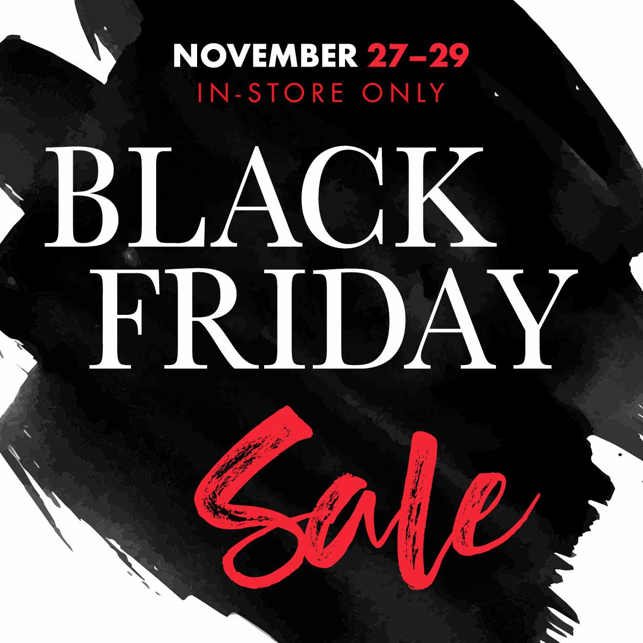 KBB Music Black Friday Sale – In-Store Only
