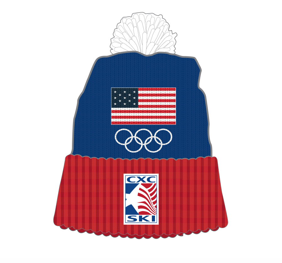 Embroidered Olympic Yarn Hat - Special Gift