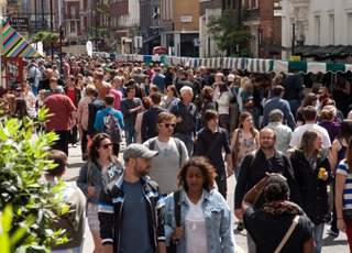 This Sunday we'll be taking part in London's bustling and creative Soho Flea Market.
