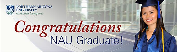 Congratulation Graduates! NAU Extended Campuses graduation image