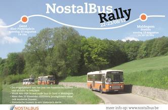 NostalBusRally 22 en 23 augustus