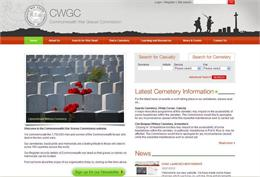 new cwgc website